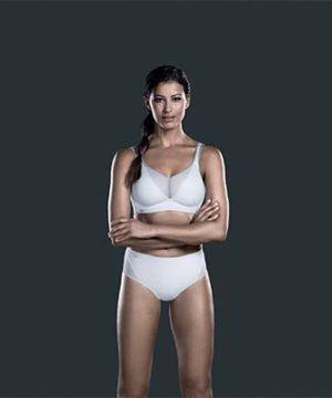Aircontrol white anita sports bra
