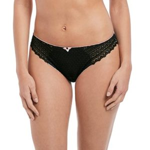 Daisy-lace-Black-brief-front