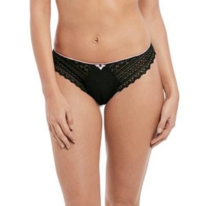 Daisy-lace-Black-thong-front