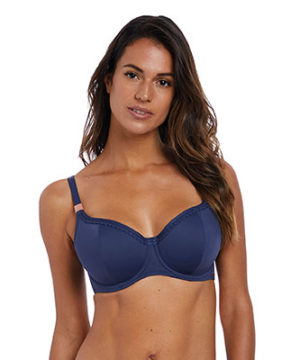 Marseille UW Padded Bikini Top by Fantasie Swim in Twilight