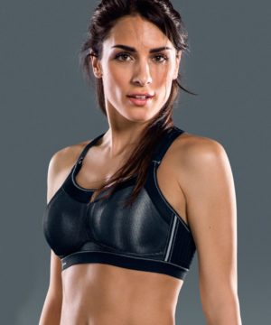 Momentum Pro Sports Bra in Black by Anita