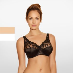 Belle Full Cup Bra Fantasie Black