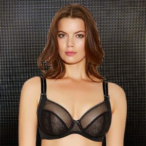 Eveden Freya Hero Underwired Balcony Bra Black