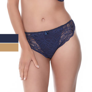 Jacqueline-Lace-Thong-Navy