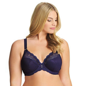 Carmen Plunge Bra by Elomi in Ink