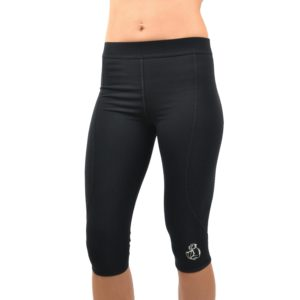 Compression Tights Ellebie black front